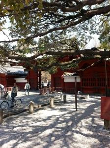 Akamon, a mais famosa entrada da UTokyo