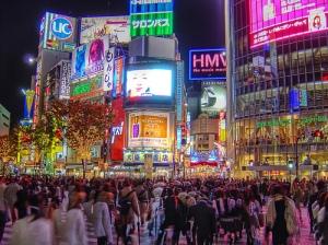 Shibuya, movimentada o tempo inteiro